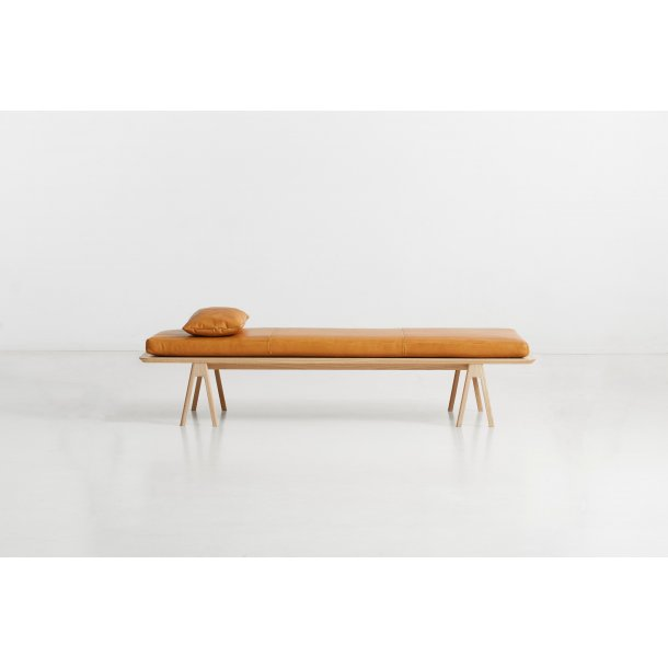 Woud - Pude til Level Daybed cognac