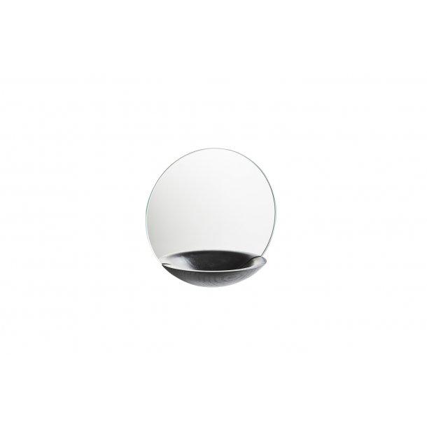 Woud - Pocket Mirror lille, sortmalet eg