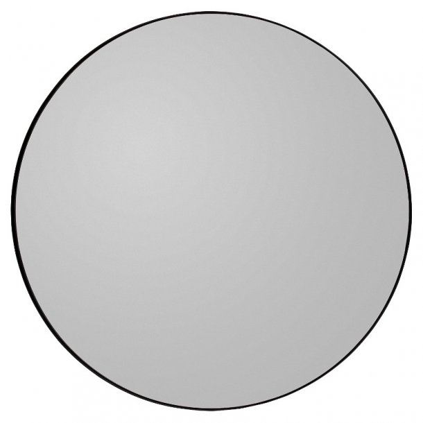 AYTM - Circum spejl Ø110 (Sort kant/røgfarvet glas)