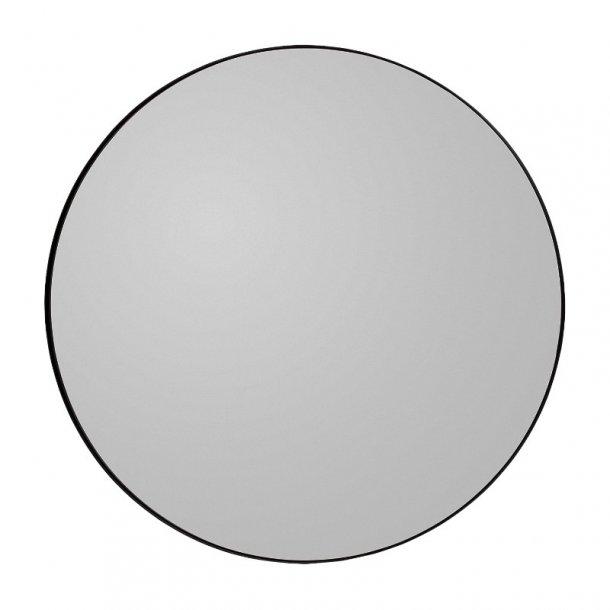 AYTM - Circum spejl Ø70 (Sort kant/røgfarvet glas)
