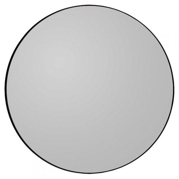 AYTM - Circum spejl Ø90 (Sort kant/røgfarvet glas)