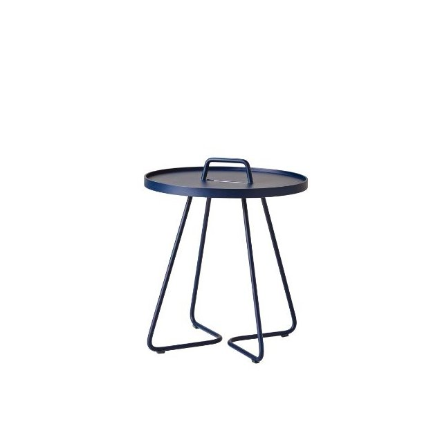 Cane-line - On-the-move sidebord, lille, midnight blue