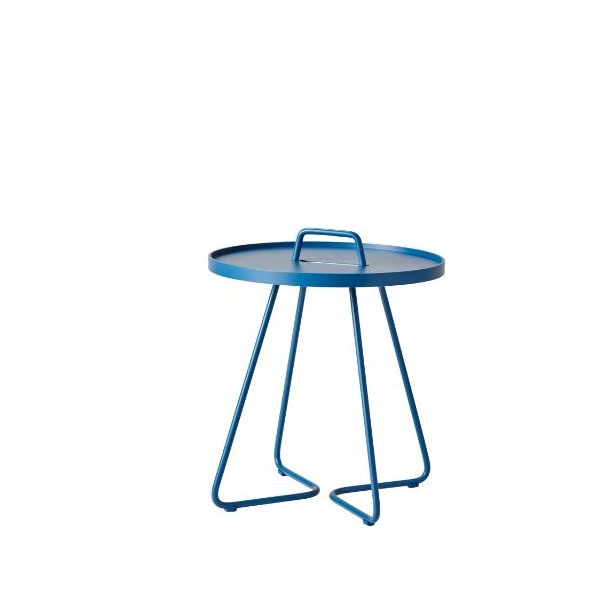Cane-line - On-the-move sidebord, lille, dusty blue