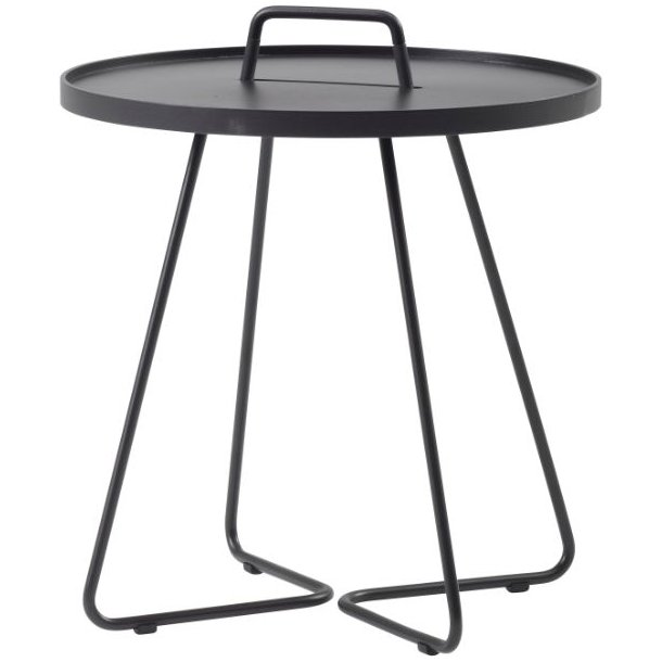 Cane-line - On-the-move sidebord, stor, sort