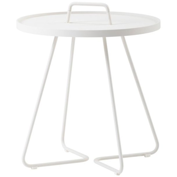 Cane-line - On-the-move sidebord, stor, hvid