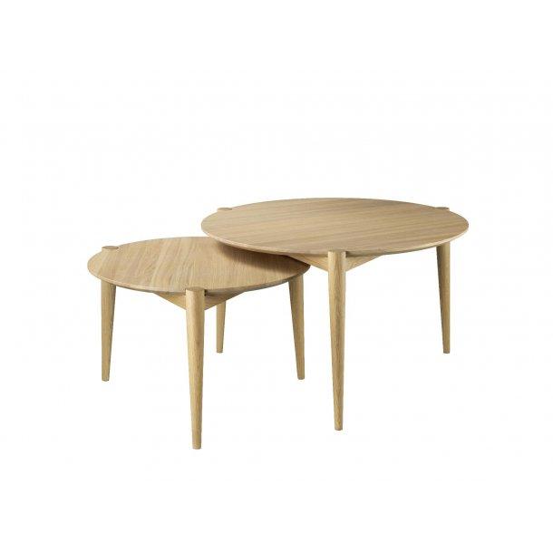 Stine Weigelt sofabord - Søs - Ø70 - Natur
