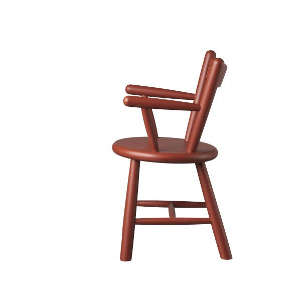 Børge Mogensen børnestol - P9 - rød