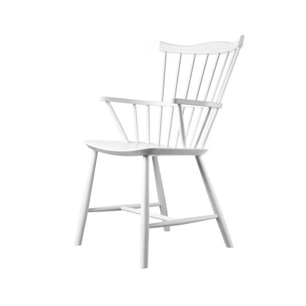J52B spisebordsstol <br>(Hvid)