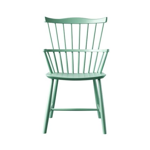 J52B spisebordsstol <br>(Støvet grøn)