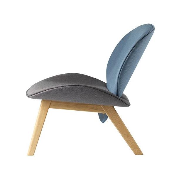 Suru loungestol<br>(grå/blå)