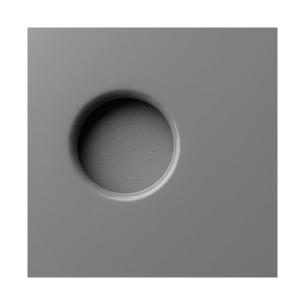 Butler høj kommode<br>(grå/natur)