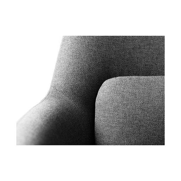 Gesja L33 lænestol<br>(lysegrå)
