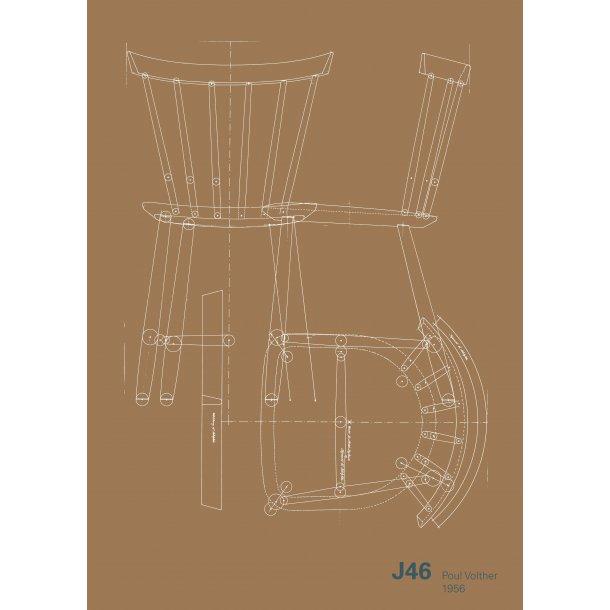 Poul Volther plakater sæt af 3 stk. 50x70