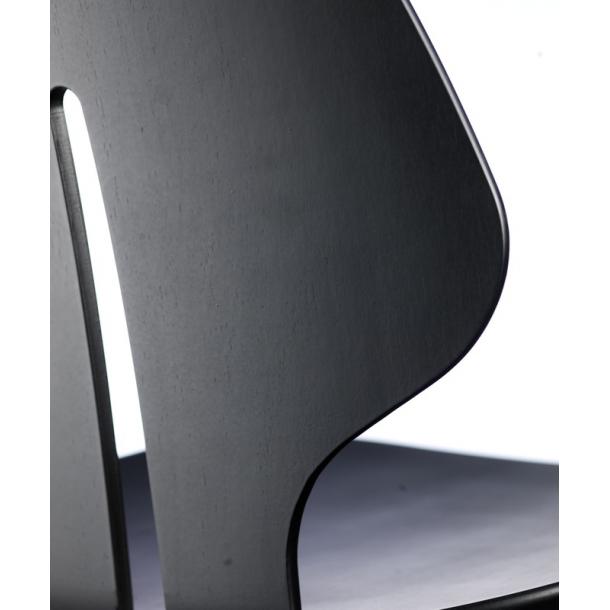 J67 spisebordsstol <br>(sort)