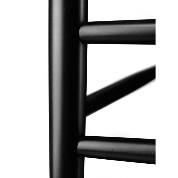 J81 spisebordsstol <br>(sort/sort)