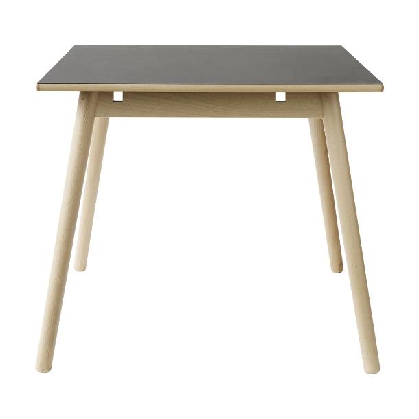 C35A spisebord til 4-8 pers <br> (Bøg/sort)
