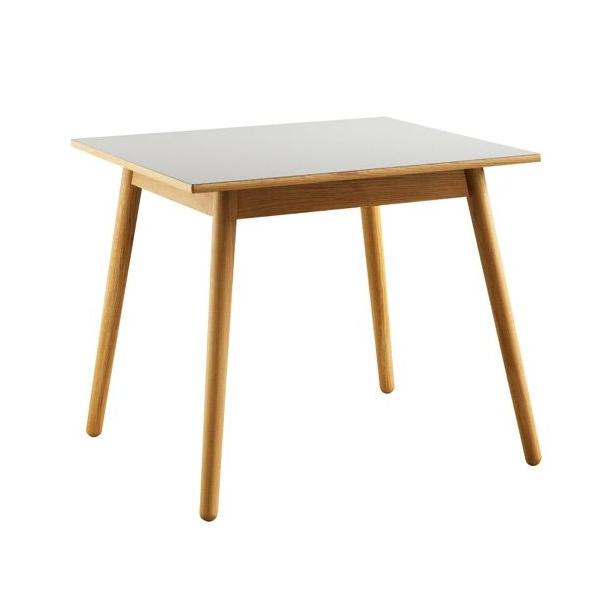 C35A spisebord til 4-8 pers <br> (eg/grå)