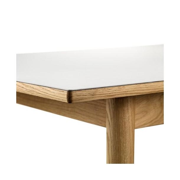 C35B spisebord til 6-10 pers <br> (Eg/grå)