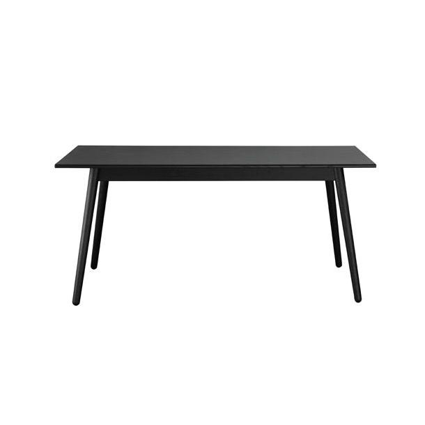 Opprinnelig C35B spisebord til 6-10 personer (Eg/sort) FDB Møbler DT-52