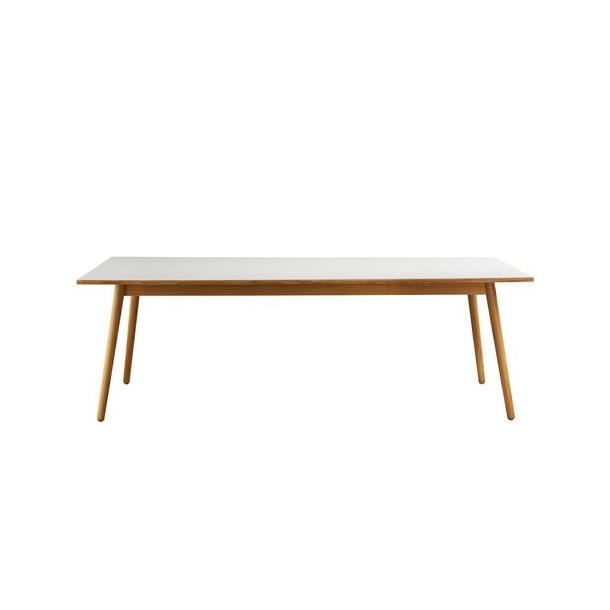 C35C spisebord til 8-12 pers <br> (Eg/grå)