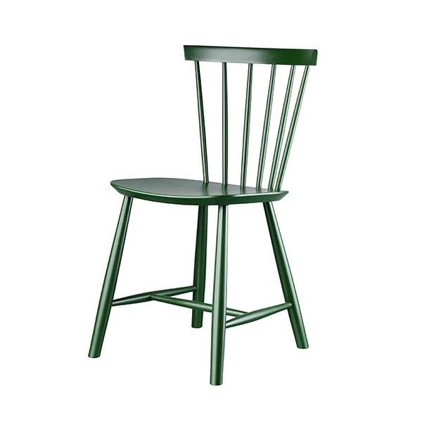 J46 spisebordsstol <br>(Flaskegrøn)