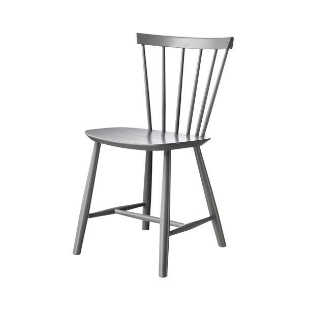 J46 spisebordsstol <br>(grå)