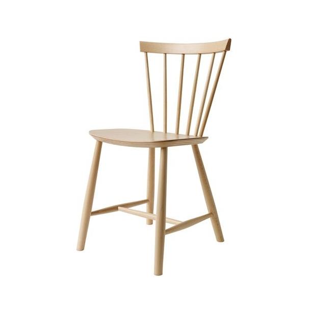 J46 spisebordsstol (bøg, natur)