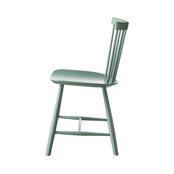 J46 spisebordsstol <br>(Støvet grøn)