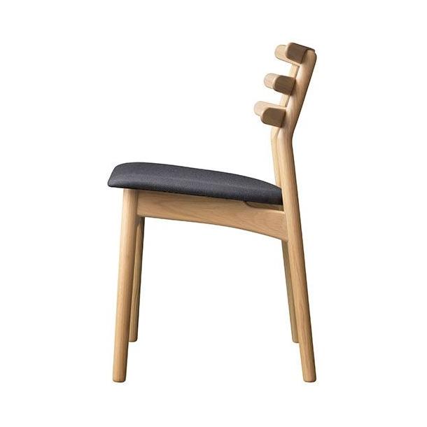 J48 spisebordsstol <br>(eg/grå)