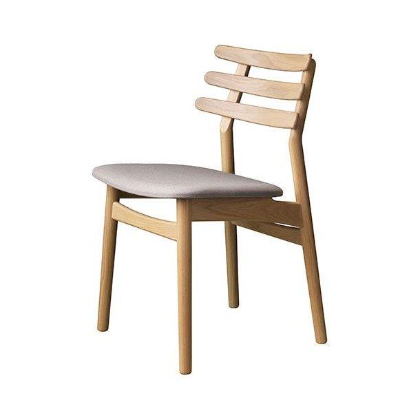 J48 spisebordsstol <br>(eg/beige)