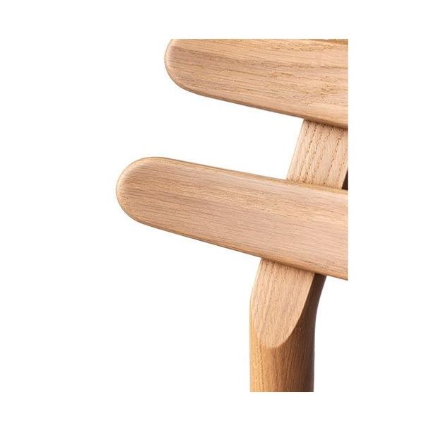 J48 spisebordsstol <br>(eg/sort læder)