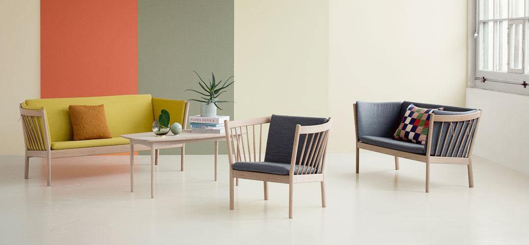 Fantastisk FDB Sofagrupper, lænestole, to- og trepersoners sofaer KK19