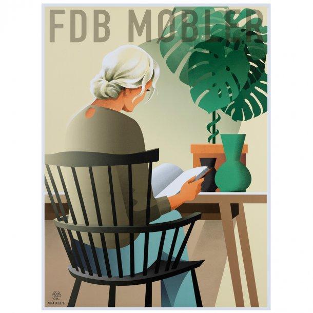 FDB Møbler plakat - J52B