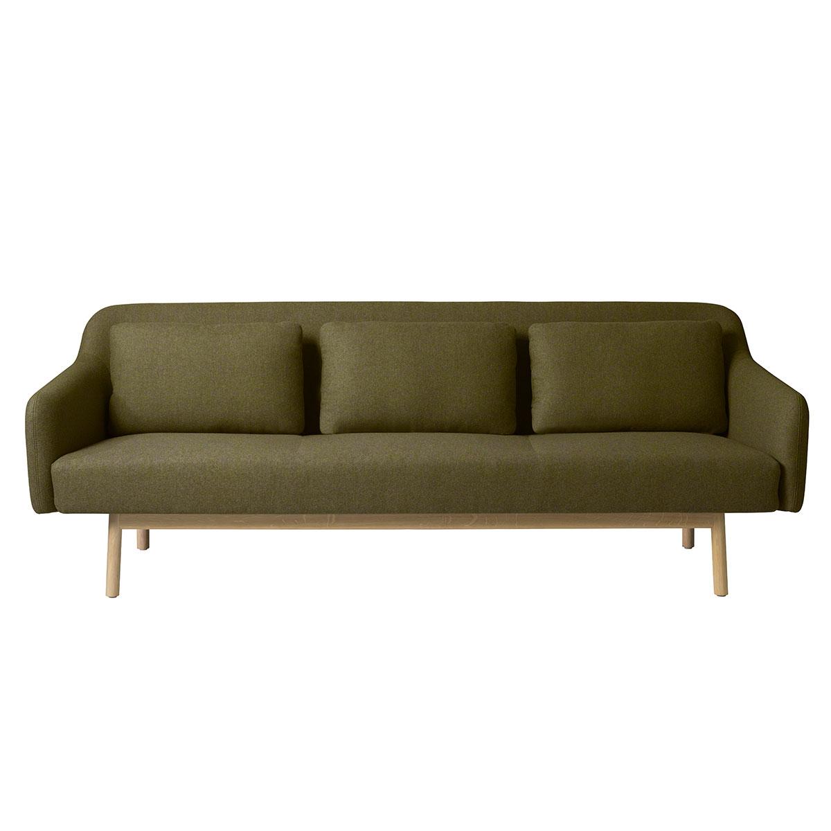 Ungdommelige Gesja L34 sofa(grønt uldstof) - FDB Sofagrupper - FDB Møbler XU74