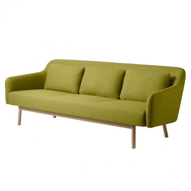 Gesja L34 sofa<br>(gult uldstof)