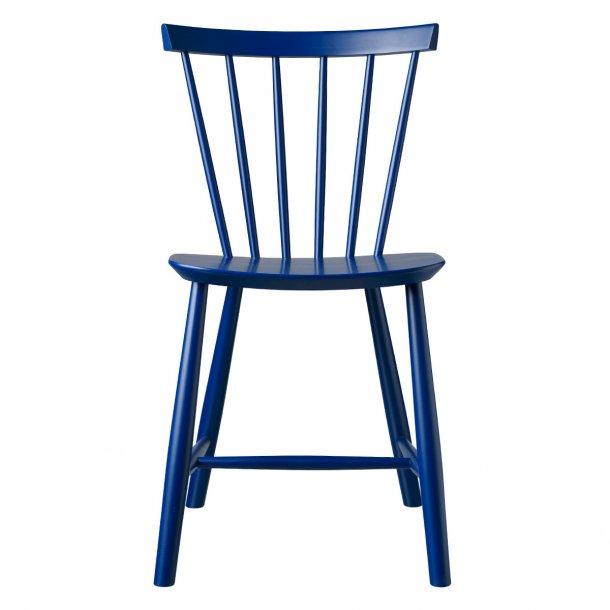 J46 spisebordsstol <br>(mørkeblå)
