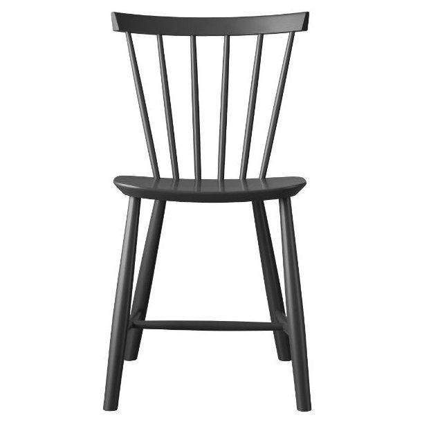 J46 spisebordsstol <br>(mørkegrå)