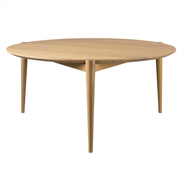 Stine Weigelt sofabord - Søs - Ø85 - Natur