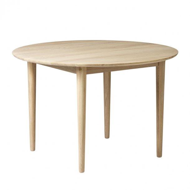 Unit10 rundt spisebord - C62 Bjørk - Natur