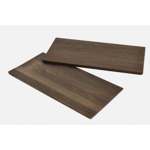 Usædvanlig Alley spisebord 205 matlakeret røget eg/sort fra Woud - fdbdesign AT97